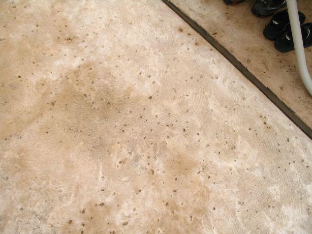 Rock Salt Finish On Concrete Concrete Concrete Finishes