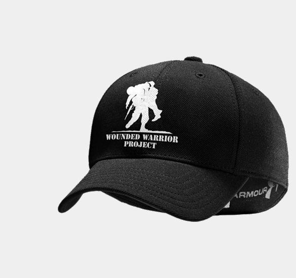 caae4f3cff Cool Under Armour stretch fit hat that benefits Wounded Warrior ...