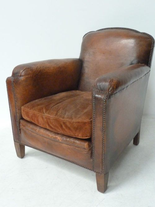 VINTAGE LEATHER CLUB CHAIRS - Chair Leather - VINTAGE LEATHER CLUB CHAIRS - Chair Leather DECORACIÖN Pinterest