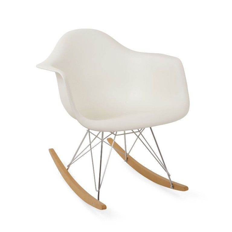 Furniture Gorgeous Eames Rocking Chair Fabric Also Private Floor From 3 Tips