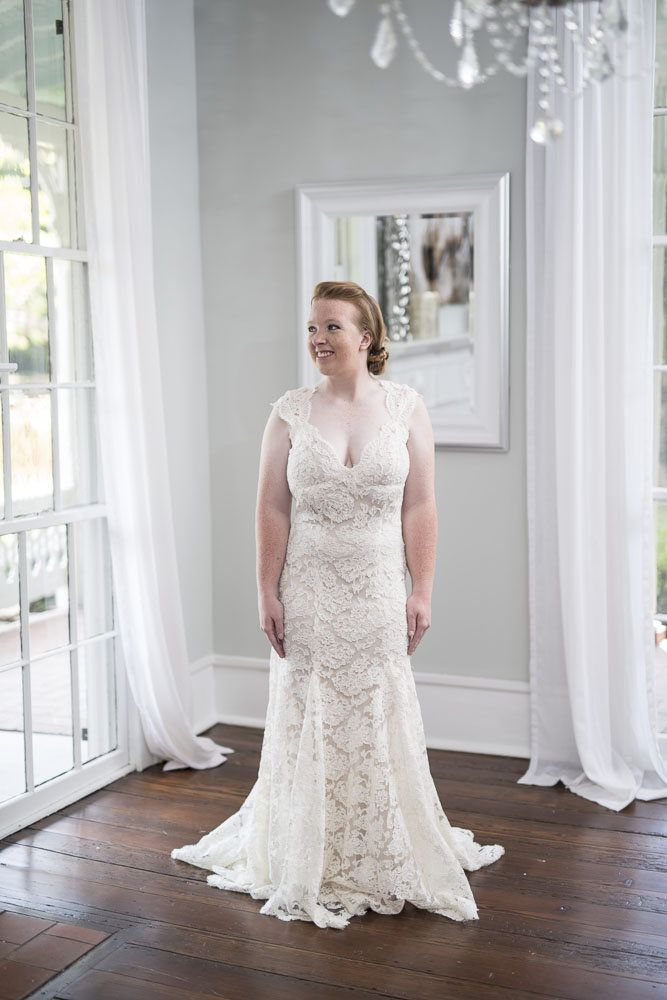 """Monique Lhuillier """"Scarlet"""" wedding dress available to ..."""