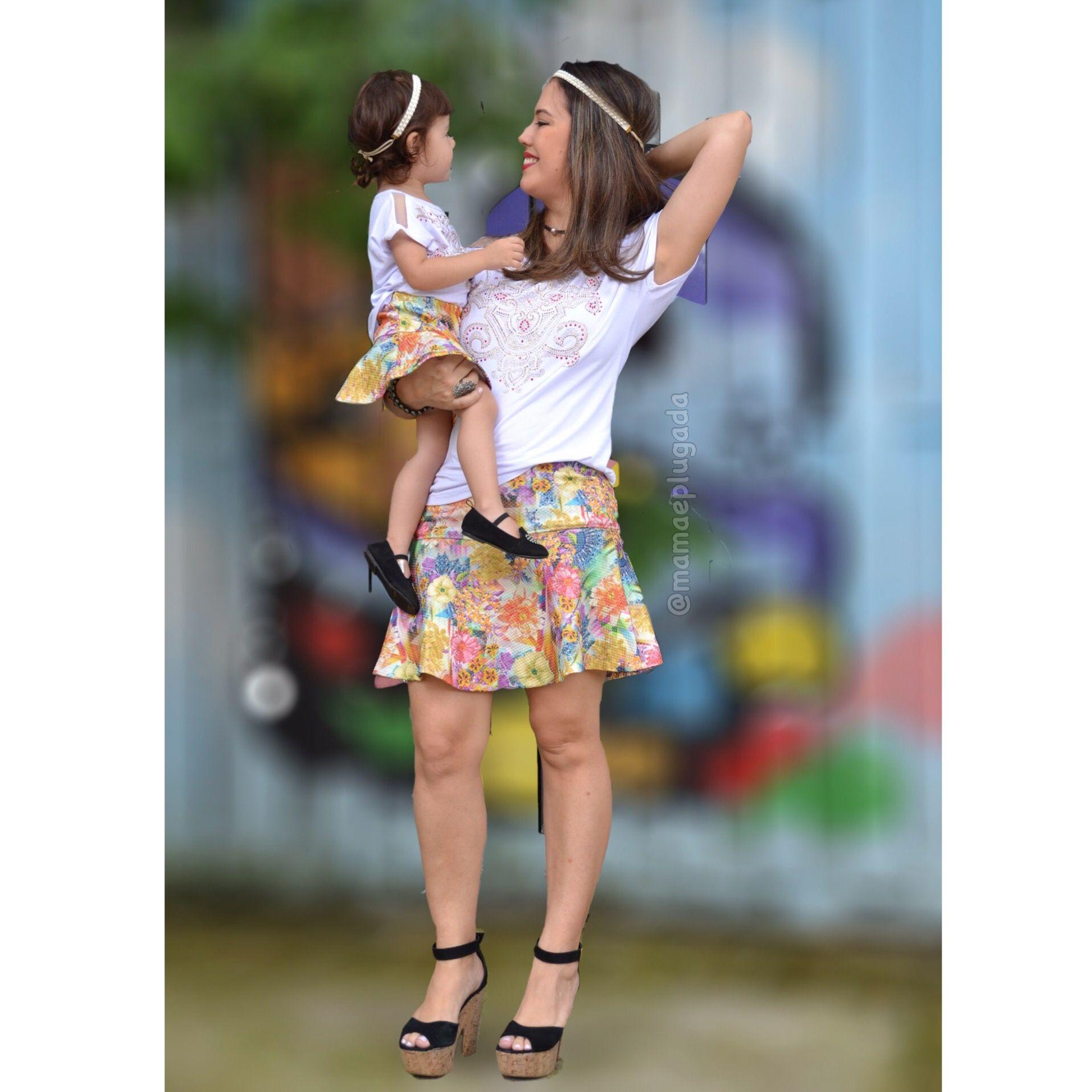 Moda tal mãe tal filha   Mamãe Plugada