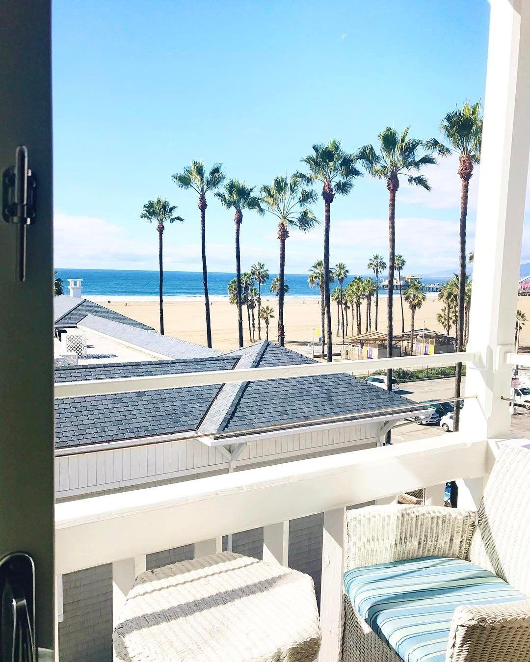 Santa Monica Beach Via Kattanita Instagram Santa Monica Hotels Santa Monica Santa Monica Beach House