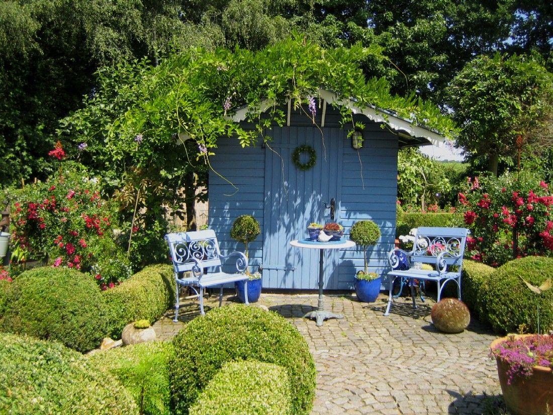 Mein blaues Haus - Bilder und Fotos