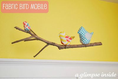 Bird Family Mobile