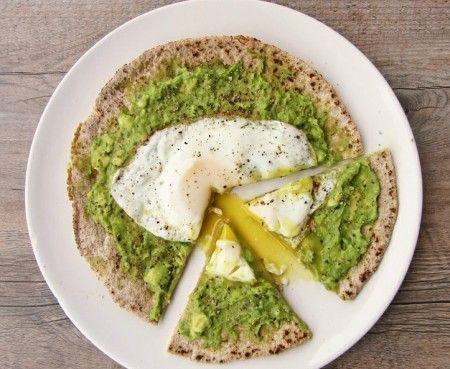 Avocado & Eggs Breakfast Pizza | weEATny