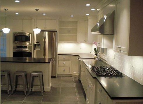 I Want To Add Recessed Lighting Like This To My Kitchen Also Like - Add recessed lighting kitchen
