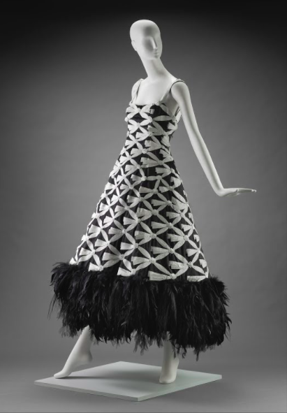 93378961a7d6 Woman's Evening Dress by Karl Lagerfeld for Chanel in 2005 | Museum of Fine  Arts, Boston