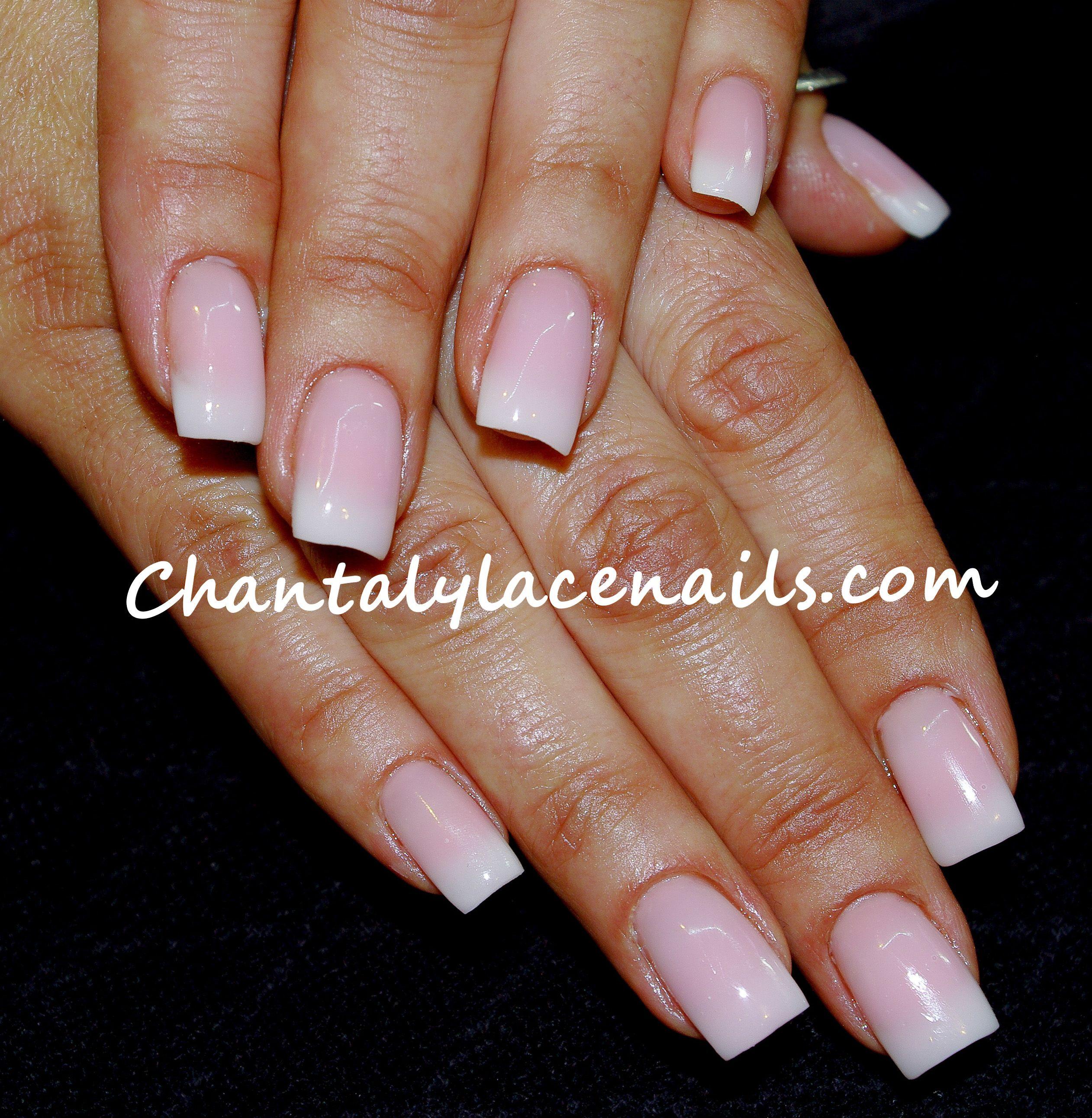 faded French /natural nails | nature! | Pinterest | Natural nails ...