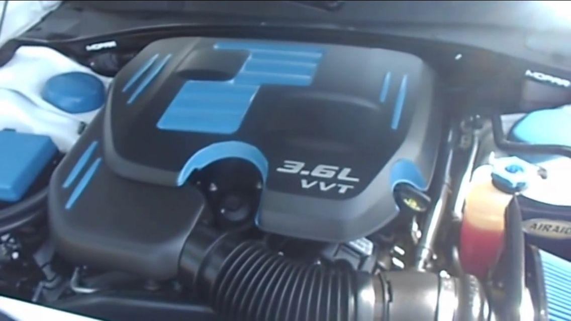 Both Cold Air Intake And Engine Bay Dress Up And Paint Dodge Charger Sxt Charger Sxt 2013 Dodge Charger