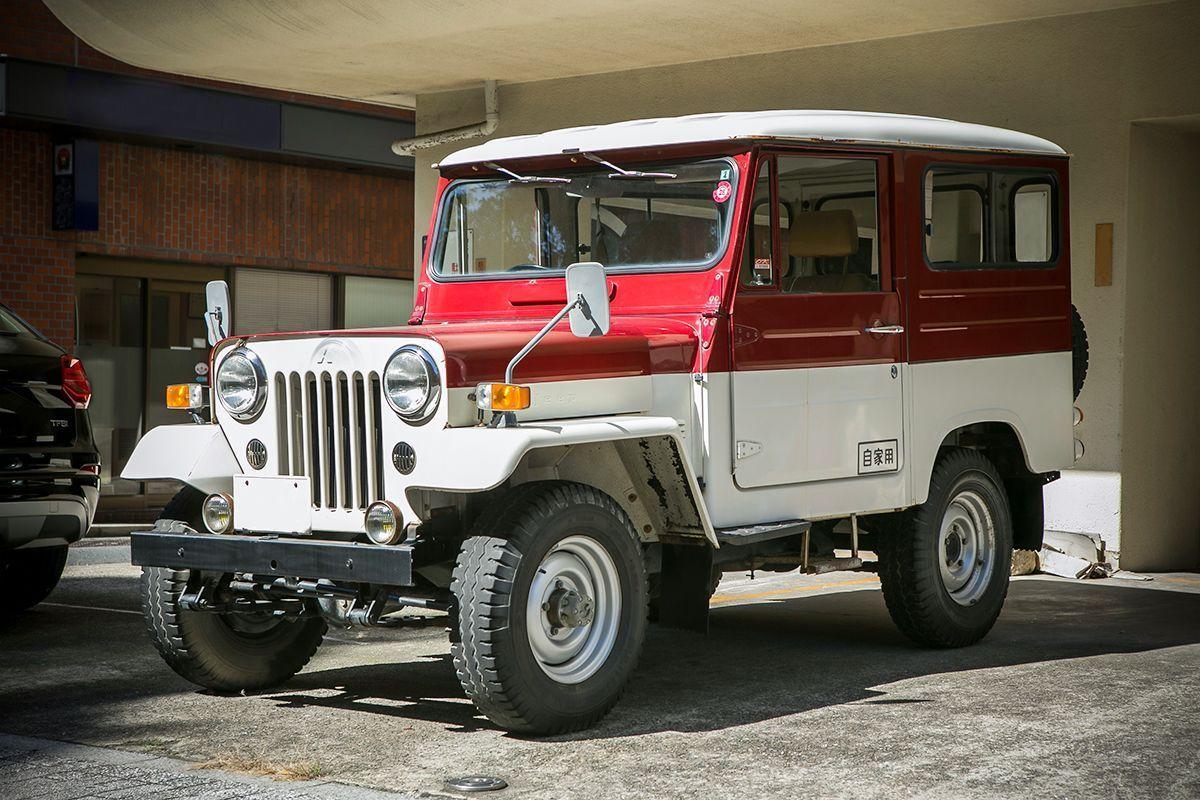 ジープ 三菱 三菱 Jeep
