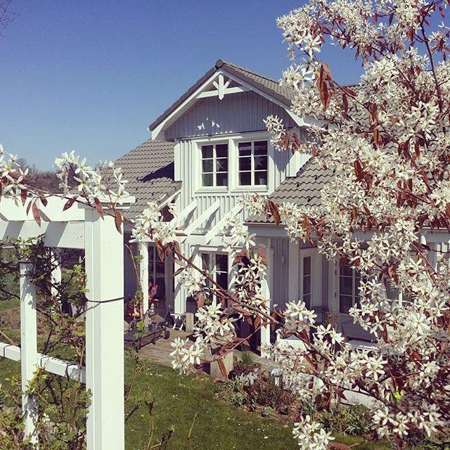 Haus Shabby Chic skandinavisches wohnen wohnen in weiss shabby chic schwedenhaus