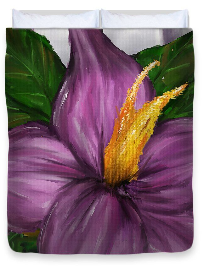 "Such Beauty- Magnolia Paintings Queen (88"" x 88"") Duvet Cover  http://www.lourrylegarde.com/duvet-covers.html"