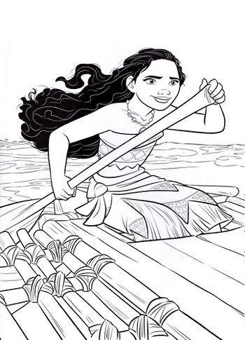 Color The Disney Moana Coloring Pictures Moana Coloring Moana Coloring Pages Moana Coloring Sheets