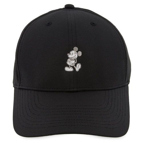 d3ac8f59a94 Nike s Dri-Fit technology takes a swing at a classic baseball cap design  sporting an embroidered Mickey Mouse in his classic pose.