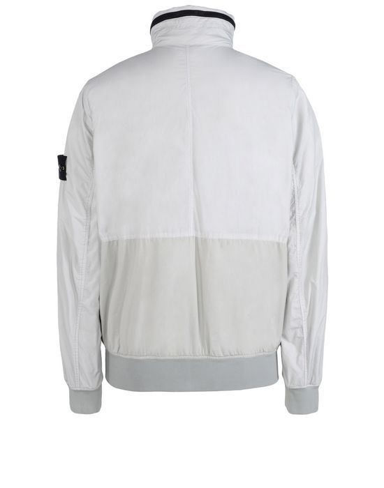 42236 GARMENT DYED CRINKLE REPS NY Jacket Stone Island Men -Stone Island Online Store
