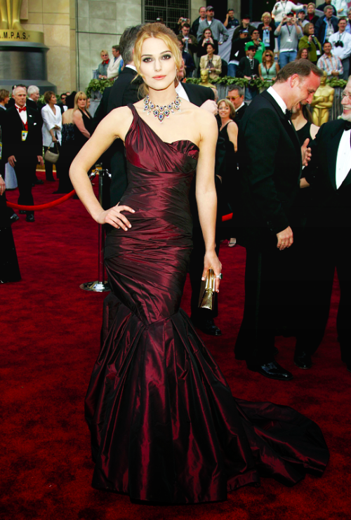 FLASHBACK Keira Knightley Attends The 78th Academy Awards