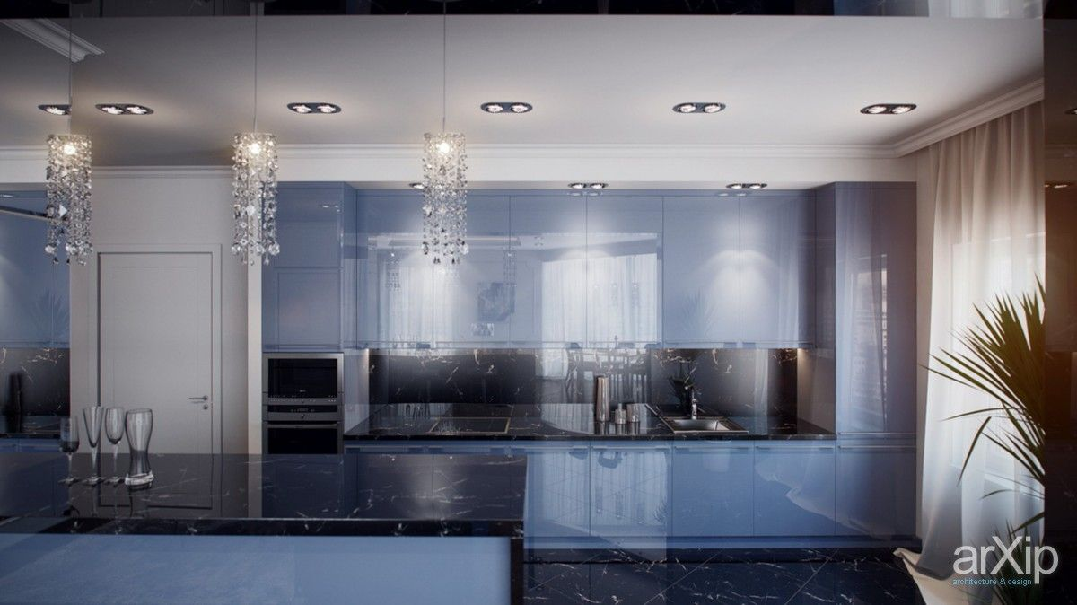 Кухня #3d_visualization #interior