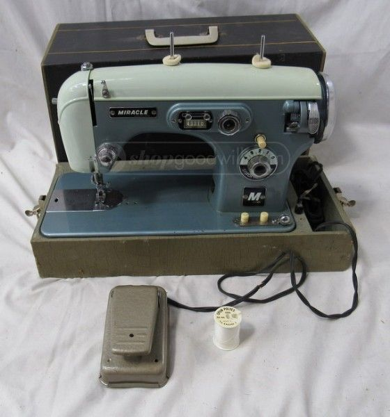 Large Picture Vintage Sewing Machines Pinterest Vintage Sewing Simple Miracle Sewing Machine