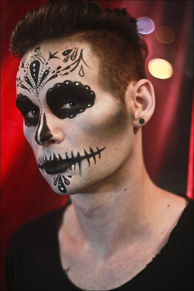 Andre By Infinite Starlight On Deviantart Halloween Makeup Sugar Skull Skull Makeup Sugar Skull Halloween
