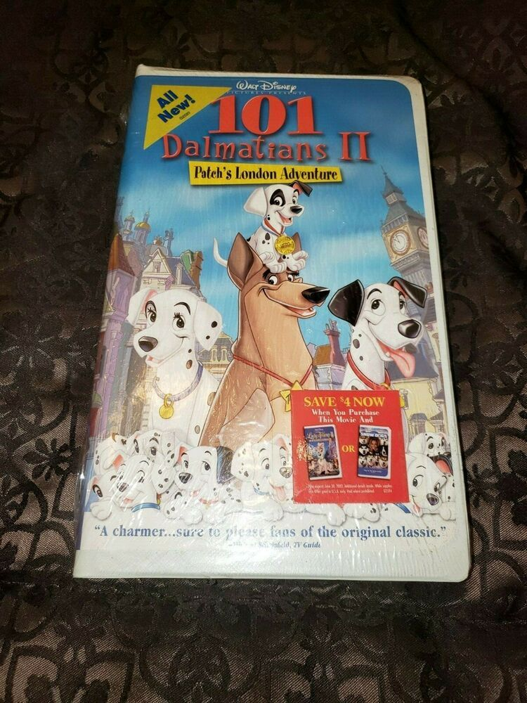 Extremely Rare Factory Sealed Original 101 Dalmations Ii Disney