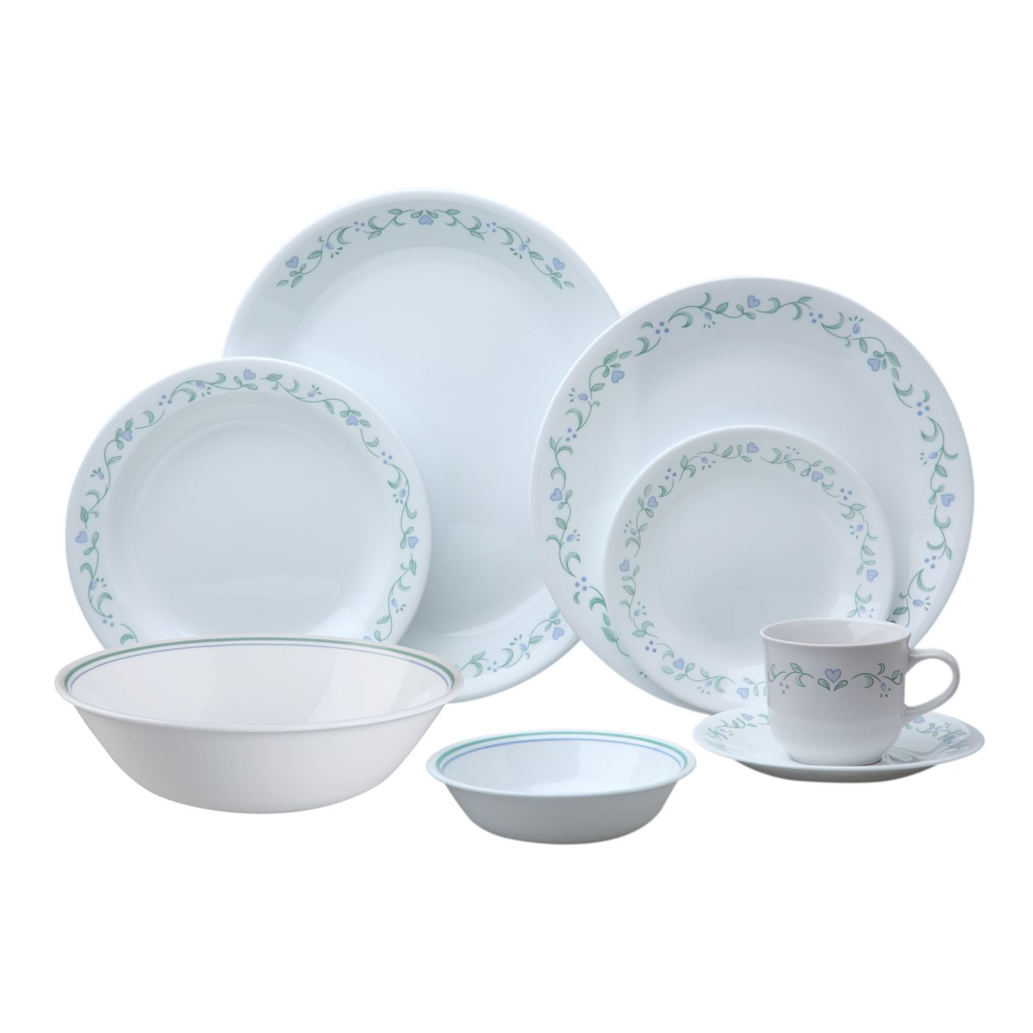 Corelle® Livingware™ Country Cottage 76-pc Dinnerware Set - Corelle  sc 1 st  Pinterest & Corelle® Livingware™ Country Cottage 76-pc Dinnerware Set - Corelle ...