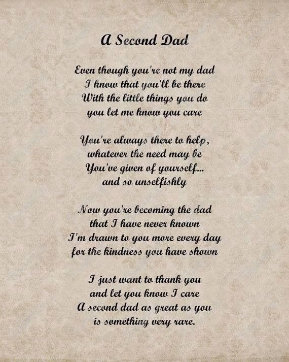 Step Dads Poems 6