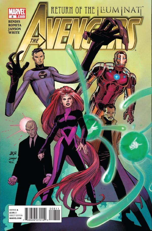 Avengers Vol. 4 # 8 by John Romita Jr. & Klaus Janson