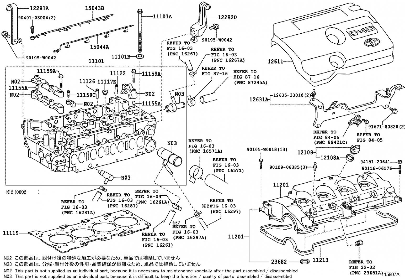 Toyota Corolla Verso Engine Diagram Toyota Corolla Verso