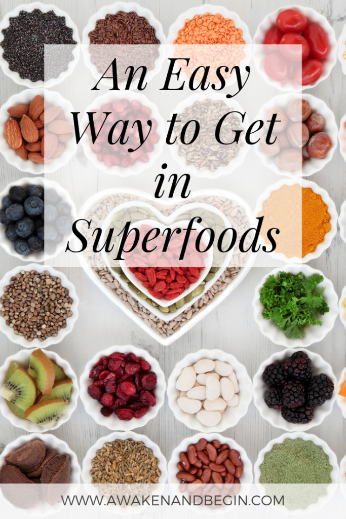 An Easy Way To Get In Superfoods Superfoods Eat Superfood Recipes