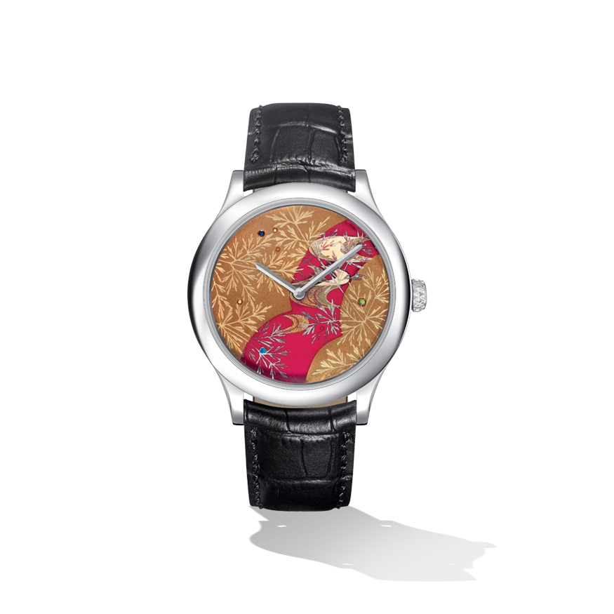 Japanese Lacquer Extraordinary Dial™ - Van Cleef & Arpels @Funaek -- This is $88,000