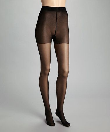 Take a look at this Black Graduate 40 Tights by Ori on #zulily today!