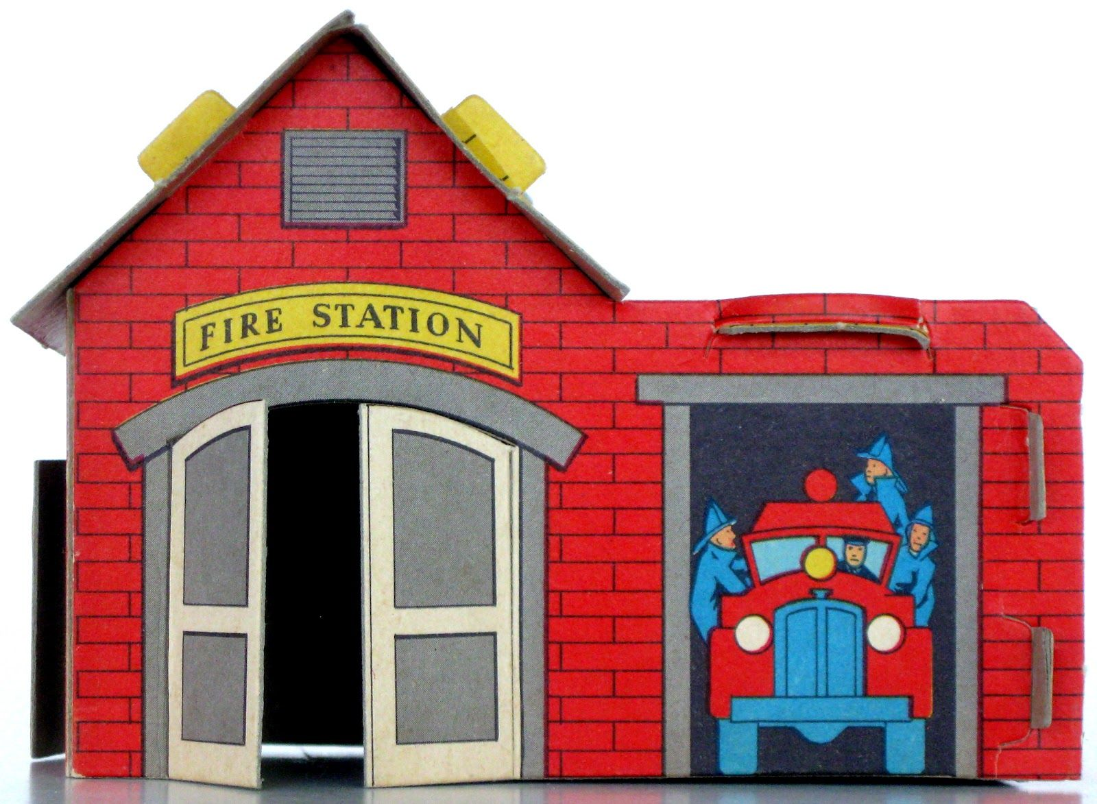 fire station building coloring pages - photo#35