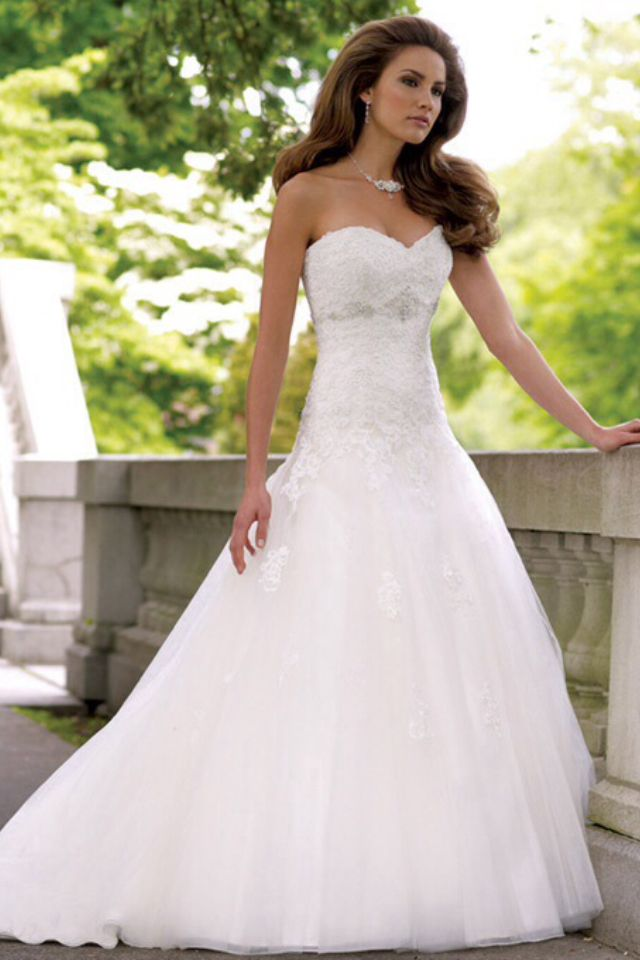 Perfect dress | Wedding | Pinterest | Wedding dress, Weddings and ...