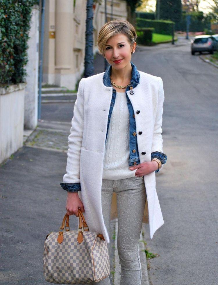 Jeans overall damen kombinieren