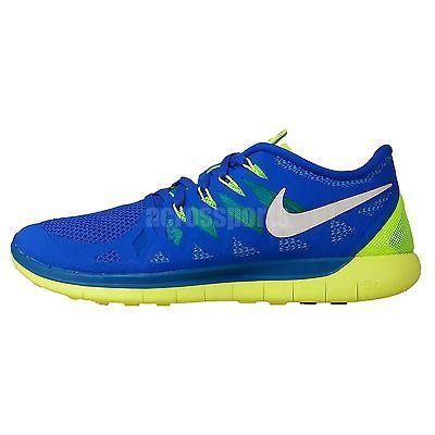 online retailer f3e08 4a59d Nike Free 5.0  FREE RUN 2 3 Sprite Blue Volt Mens Jogging Running Shoes  Trainer