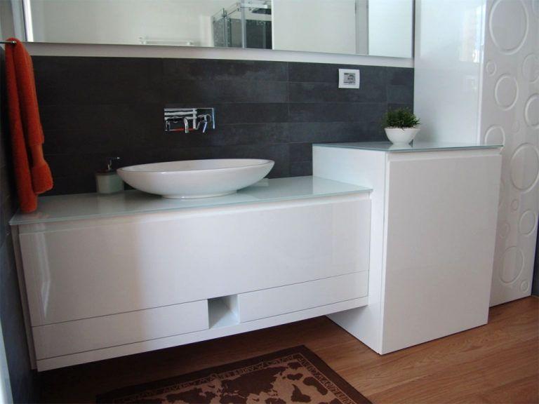 Lavello Bagno Con Mobile.50 Idee Di Mobili Bagno Con Lavatrice Image Gallery Con