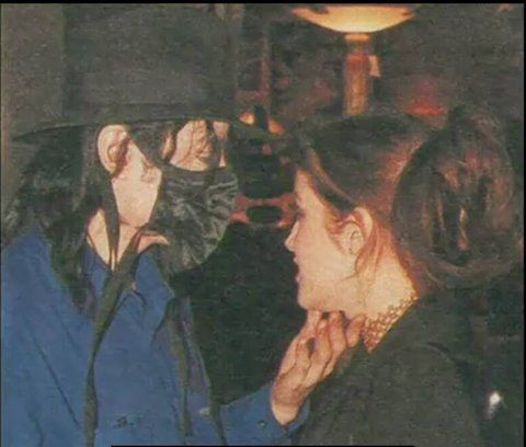 Michael Jackson and Lisa Marie Presley share an intimate moment outside the Ivy restaurant, Feb 1998, 2 years after they divorce. - See this image on Photobucket.