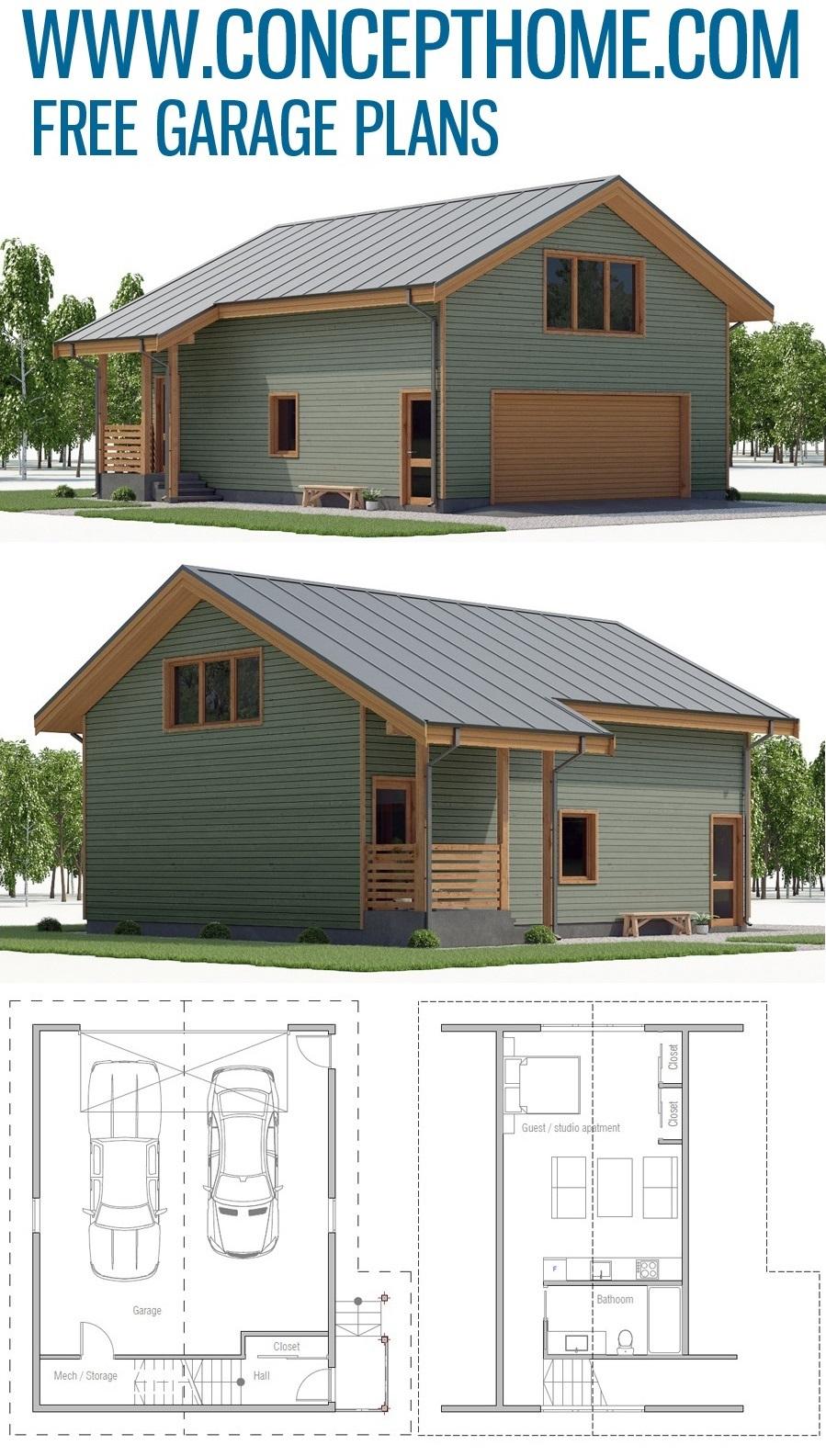Garage Plan G810 Carriage House Plans Garage Apartment Plans House Plans