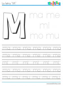 Silabas Con M Graduacion Actividades De Letras Aprender Silabas Y Silabas