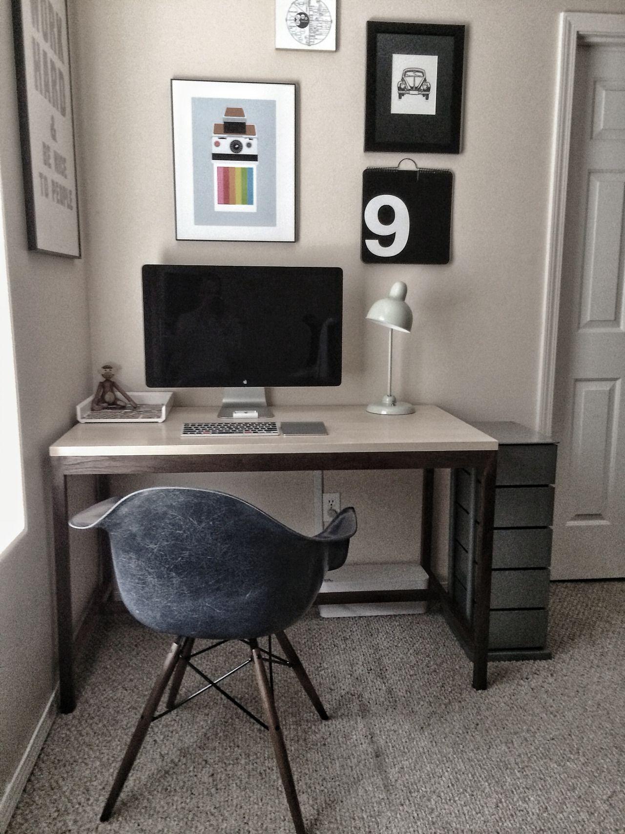 Minimal Desks   Simple Workspaces, Interior Design : Photo