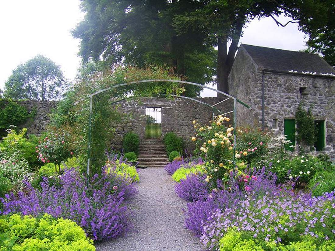 Panel Beastring Cars Garden Ideas Ireland Irish Garden Brick Wall Gardens