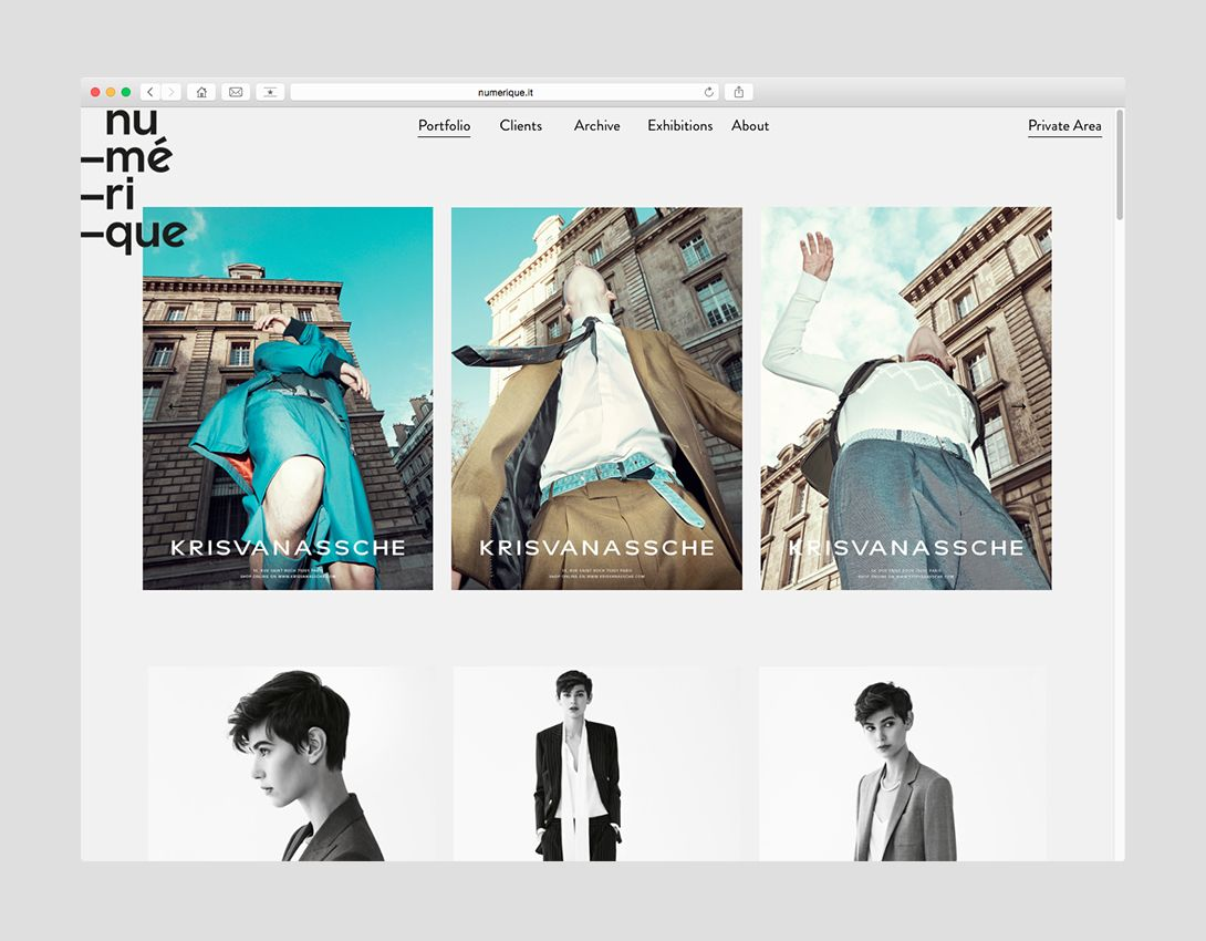 Numérique - homepage #website #okcs #webdesign #web #graphicdesign