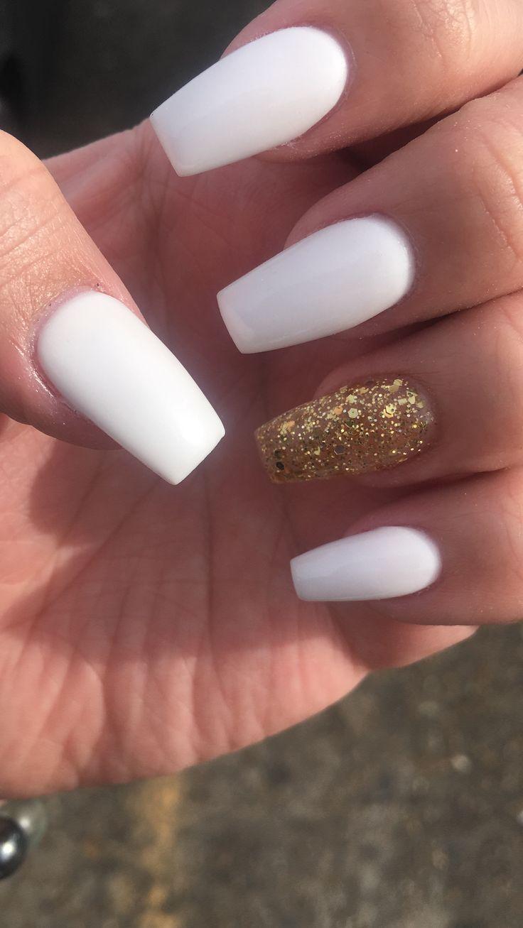 - Nails - Emma Blog -  (notitle)        (notitle),Long nails        #Gel nails #Nail art #Nails #Pretty nails #White acryl - #AccentNails #Blog #Emma #NailArtGalleries #nails #StilettoNails