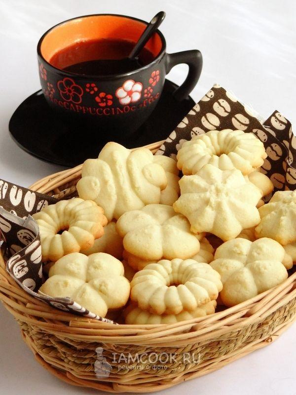 удачный рецепт печенья для шприца с дозатором