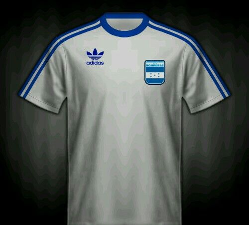 Honduras home shirt for the 1982 World Cup Finals.   Camisas ...