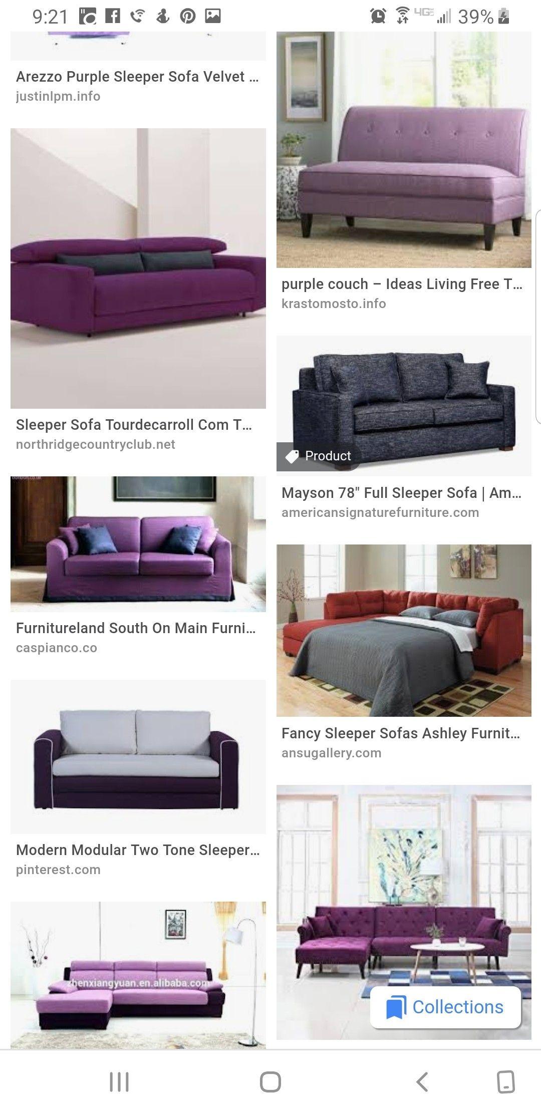 Pin By J On Sleep Sofa With Images Sleep Sofa Purple Couch