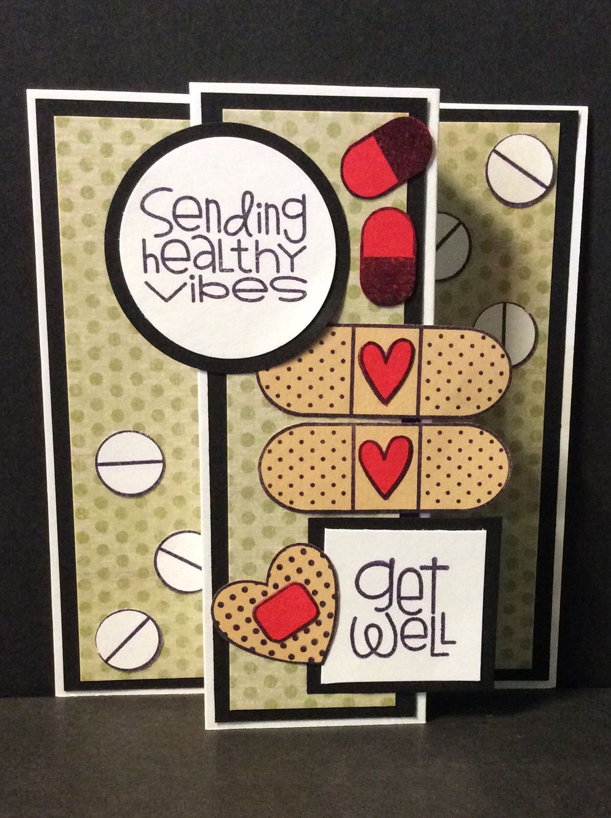 May 2015 card, with Paper Smooches stamps
