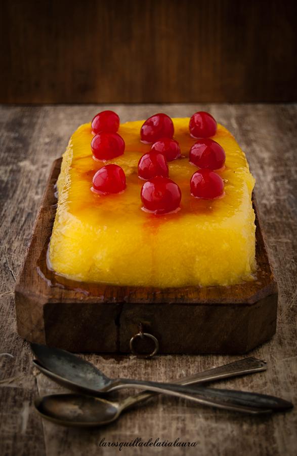 Pudin de piña y limón { Sin horno} | Cocina