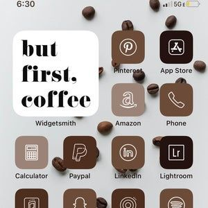 Pastel app store app icon; Neutral iPhone iOS 14 App Icons Aesthetic app icons for ...
